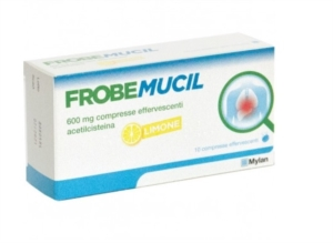 Frobemucil 600 Mg Compresse Effervescenti 10 Compresse In Strip Al