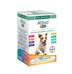 Bayer Pet Linea Animali Domestici Attivo Tabs Cani Integratore 60 Compresse