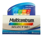 Multicentrum Linea Vitamine Minerali Select 50 Integratore 50 Anni 90 Compresse
