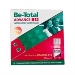 Betotal Linea Vitamine e Minerali Be Total Advance B12 Integratore 30 Flaconcini