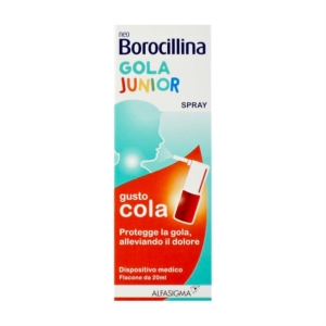 Alfa Wassermann Linea Tosse Neo Borocillina Gola Junior Spray 20 ml